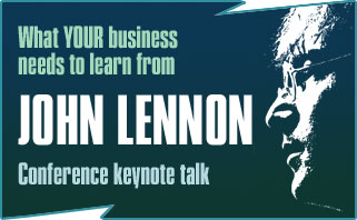 john lennon beatles innovation creativity keynote motivational talk